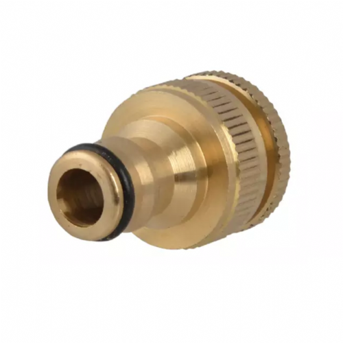 "Faithfull Brass Tap Connector 12.5mm - 19mm (1/2"" - 3/4"")"